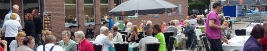 Gezellig en goed bezocht Albert Heijn ontbijt